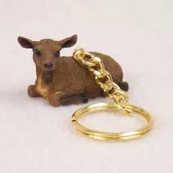 Goat Keychain