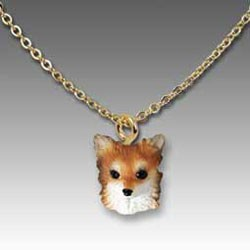 Longhair Chihuahua Necklace