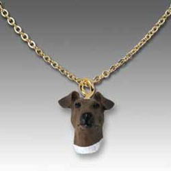 Fox Terrier Smooth Necklace