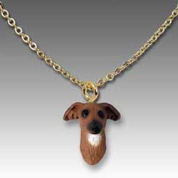 Italian Greyhound Necklace