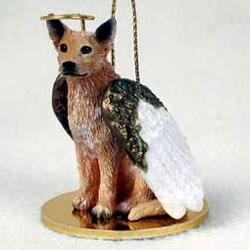 Australian Cattle Dog Christmas Ornament Angel