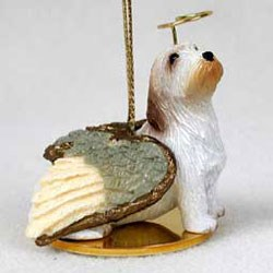 Basset Griffon Vendeen Christmas Ornament Angel