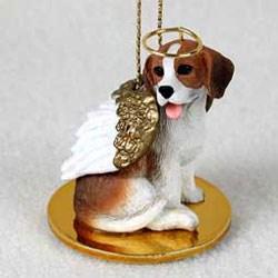 Beagle Christmas Ornament Angel