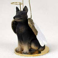 Belgian Tervuren Christmas Ornament Angel
