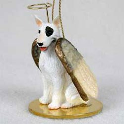 Bull Terrier Christmas Ornament Angel
