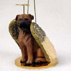 Bullmastiff Christmas Ornament Angel