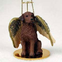 Chesapeake Bay Retriever Christmas Ornament Angel