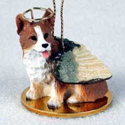 Corgi Christmas Ornament Angel Pembroke