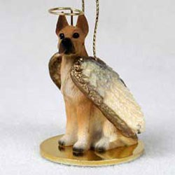 Great Dane Christmas Ornament Angel