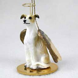 Greyhound Christmas Ornament Angel