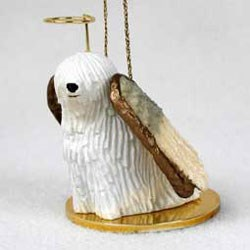 Komondor Christmas Ornament Angel