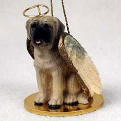 Mastiff Christmas Ornament Angel