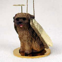 Norfolk Terrier Christmas Ornament Angel