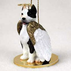 Pit Bull Terrier Christmas Ornament Angel