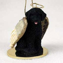 Portuguese Water Dog Christmas Ornament Angel