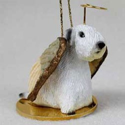 Sealyham Terrier Christmas Ornament Angel
