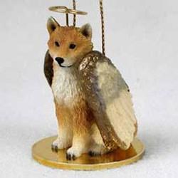 Shiba Inu Christmas Ornament Angel