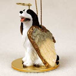 Springer Spaniel Christmas Ornament Angel