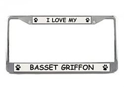 Basset Griffon Vendeen License Plate Frame