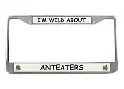 Anteater License Plate Frame