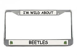Beetle License Plate Frame