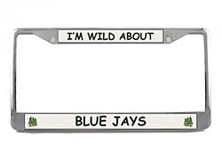 Blue Jay License Plate Frame