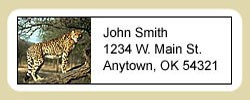 Cheetah Address Labels