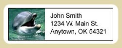 Dolphin Address Labels