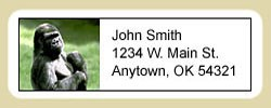 Gorilla Address Labels