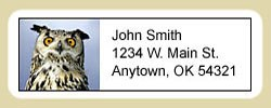 Owl Address Labels