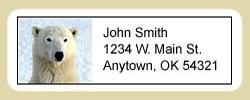 Polar Bear Address Labels