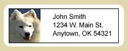 Samoyed Address Labels