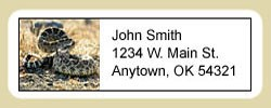 Snake Address Labels