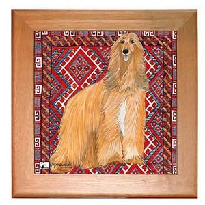 Afghan Hound Trivet