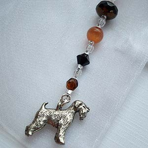Airedale Terrier Bookmark