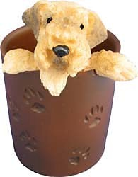 Airedale Terrier Pencil Holder