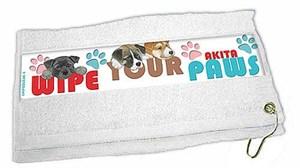 Akita Paw Wipe Towel