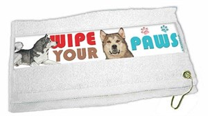 Alaskan Malamute Paw Wipe Towel