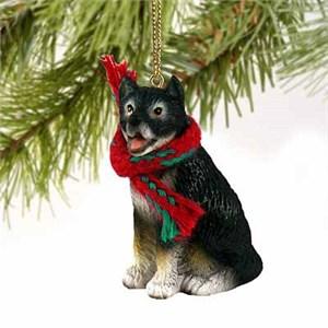 Alaskan Malamute Tiny One Christmas Ornament
