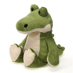 White Alligator Plush Stuffed Animal 28""