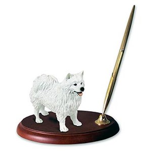 American Eskimo Dog Pen Holder