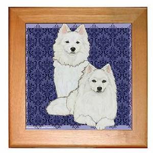 American Eskimo Dog Trivet