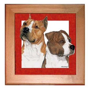 American Staffordshire Terrier Trivet