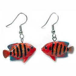 Angel Fish Earrings True to Life