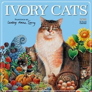 Ivory Cats Calendar 2015