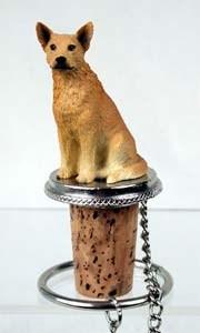 Australian Cattle Dog Bottle Stopper (Red)