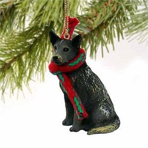 Australian Cattle Dog Tiny One Christmas Ornament Blue