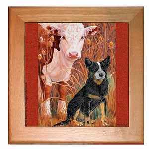 Australian Cattle Dog Trivet