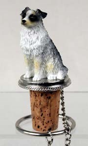 Australian Shepherd Bottle Stopper