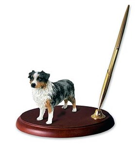 Australian Shepherd Pen Holder